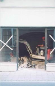 Rušenje notranjosti objektov